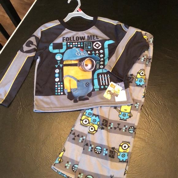 NEW BABY GAP Boys Blue Gray SHARK  2 Piece PJ Long Sleeve Pajama Set 18 24 month